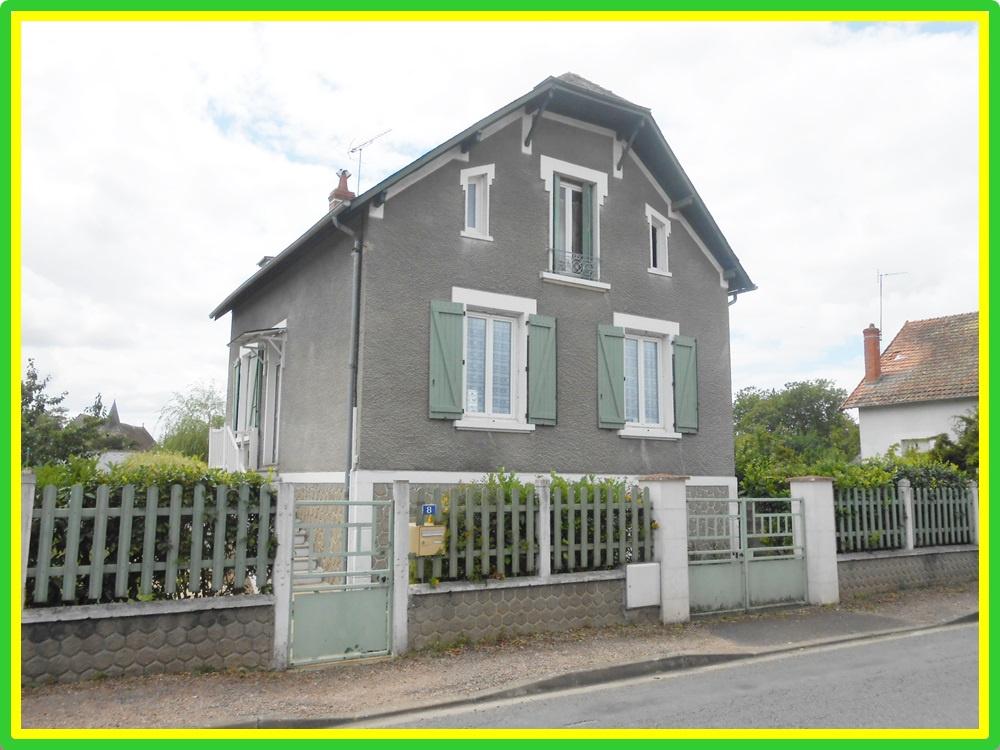 Vente maison appartement ch teauneuf sur cher 18190 sur for Garage partenaire direct assurance