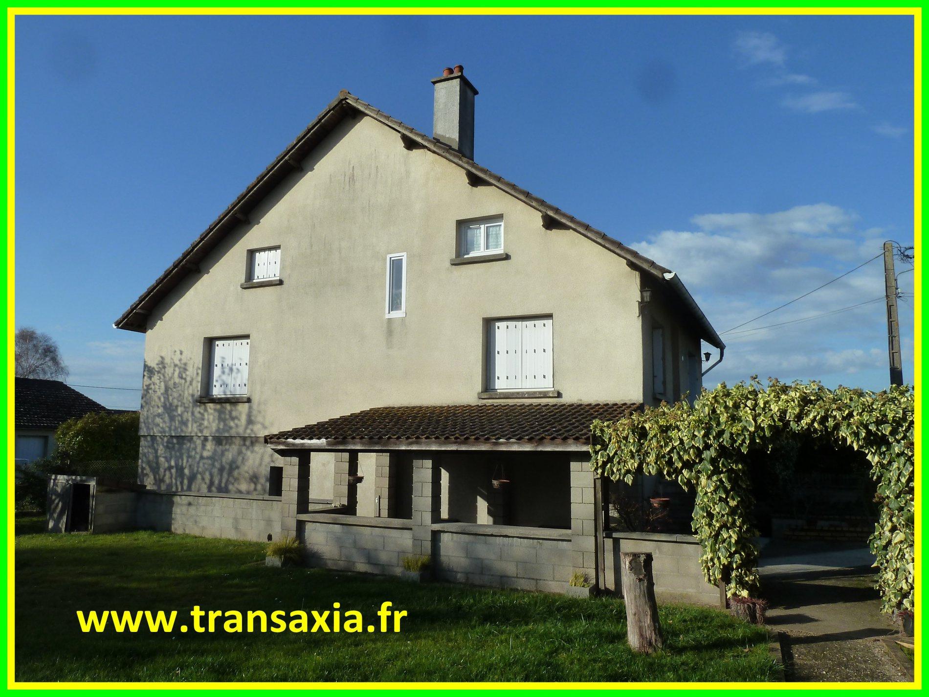 Annonce vente maison les aix d 39 angillon 18220 105 m for Vente maison gresy sur aix