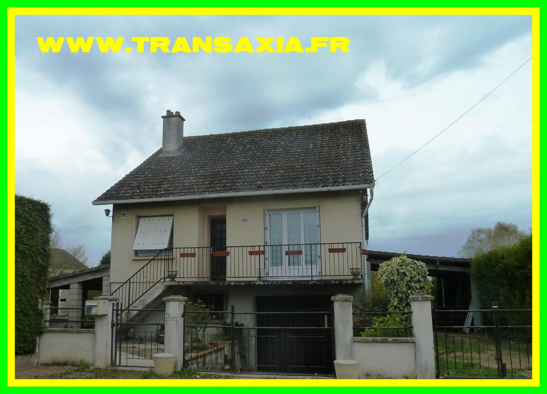 Annonce vente maison rians 18220 105 m 128 000 for Vente maison gresy sur aix