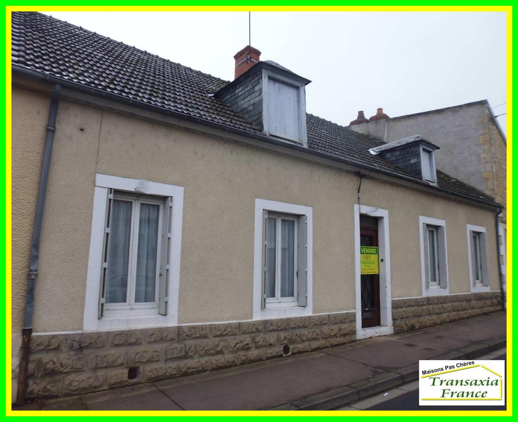 Annonce vente maison sancoins 18600 95 m 57 500 for Achat premiere maison subvention