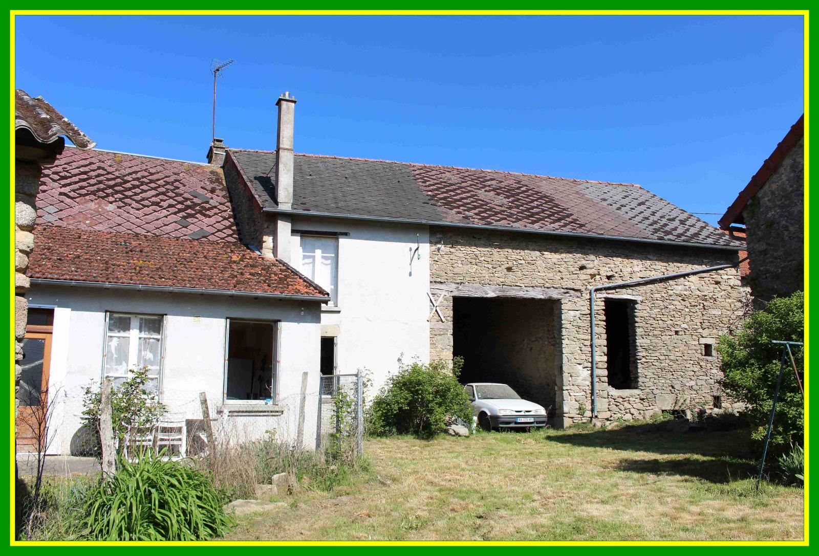 Annonce vente maison saint pierre de fursac 23290 140 for Annonce vente de maison
