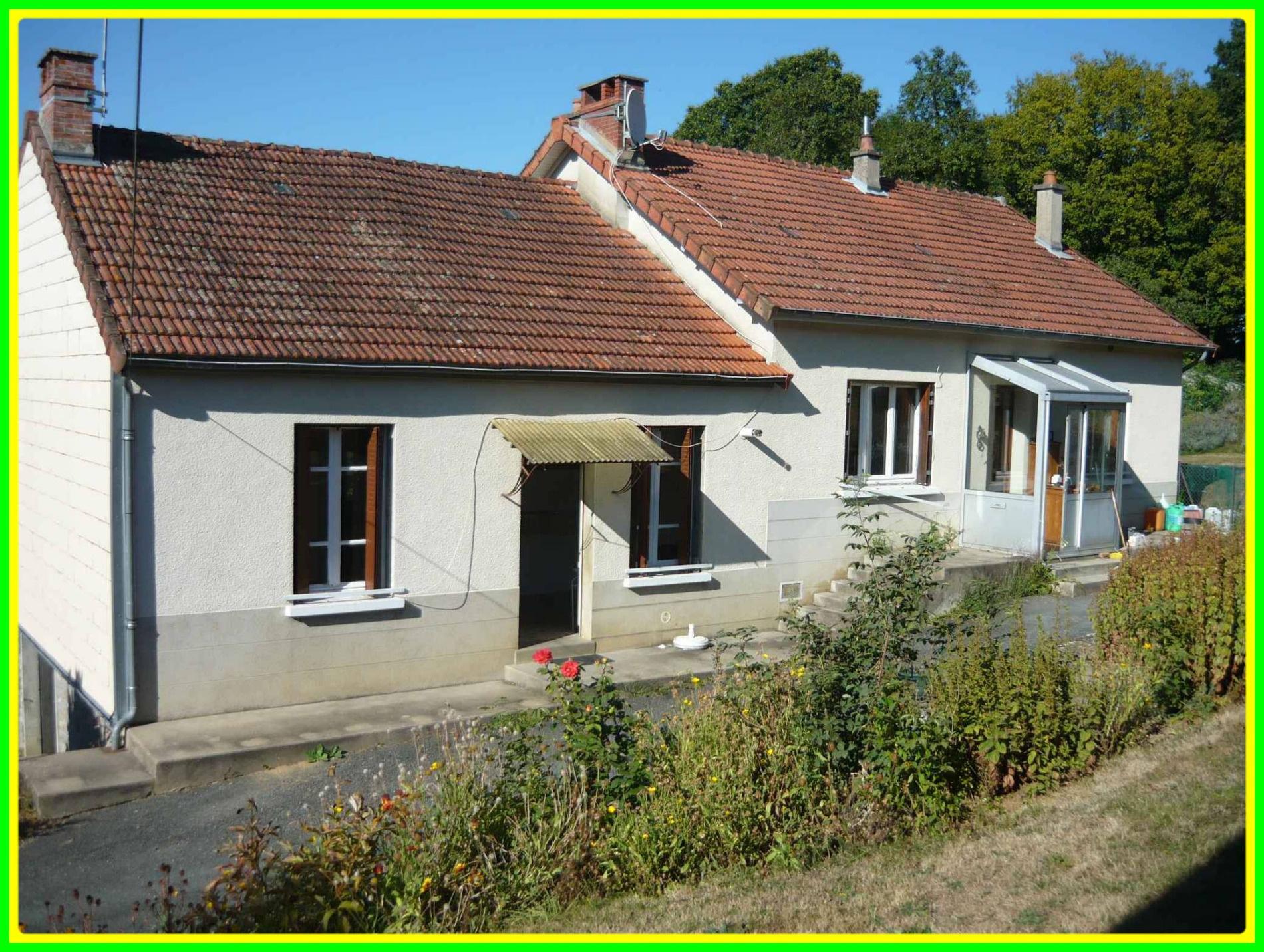 Annonce vente maison dun le palestel 23800 140 m 79 for Annonce pour louer une maison